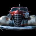 Card Cadillac Circa 1940